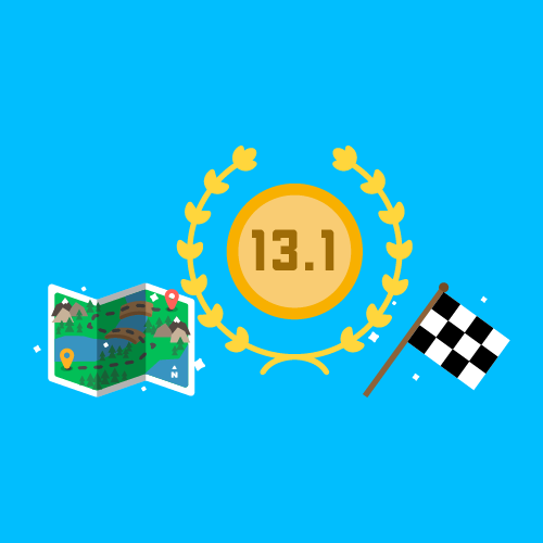 Dot Pixel - We Compete - Illustration - Map, 13.1, Checker Flag