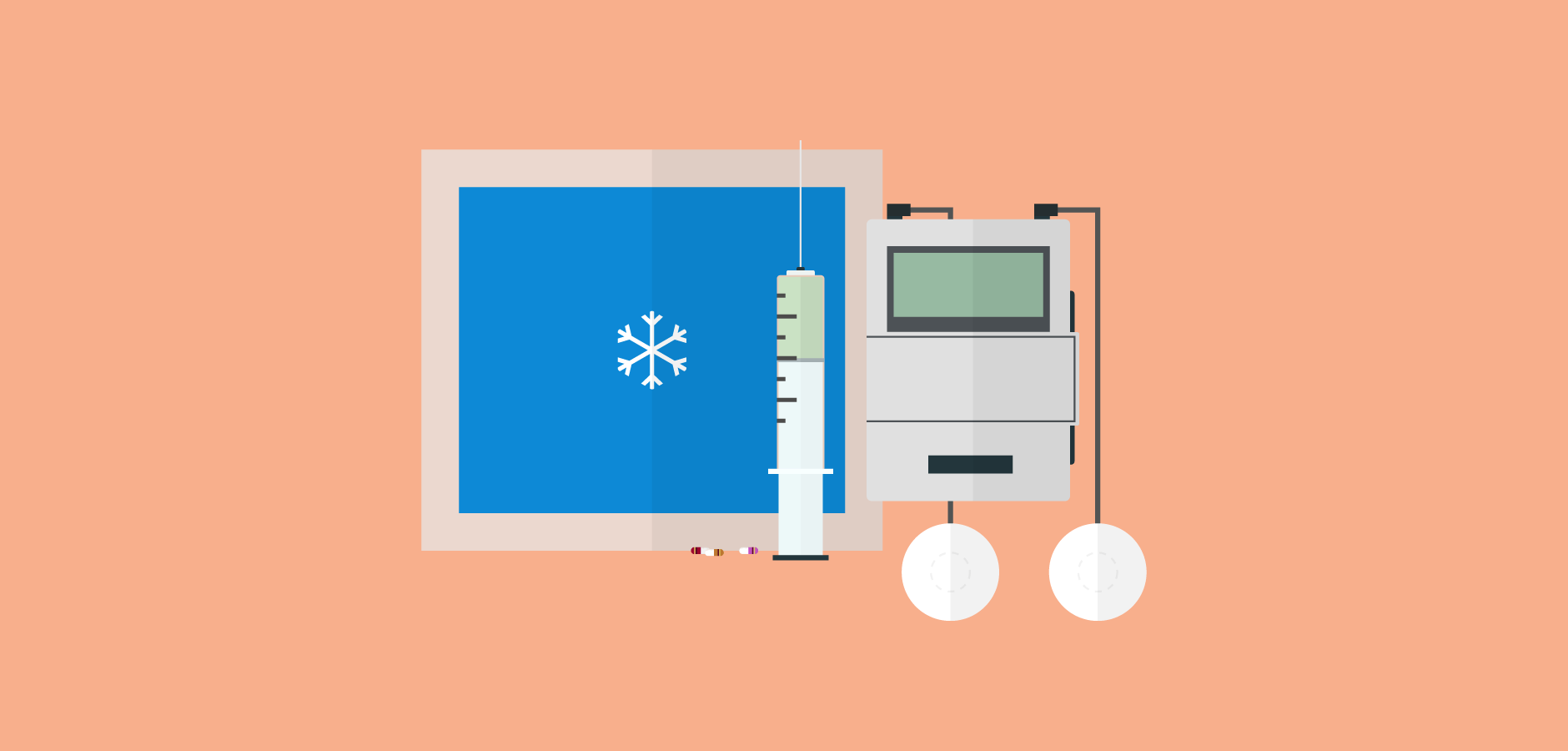 Dot Pixel - Illustration - Alternative Medicine