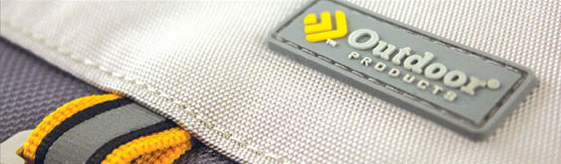 Dot Pixel - Outdoor Products Rubber Tag Design