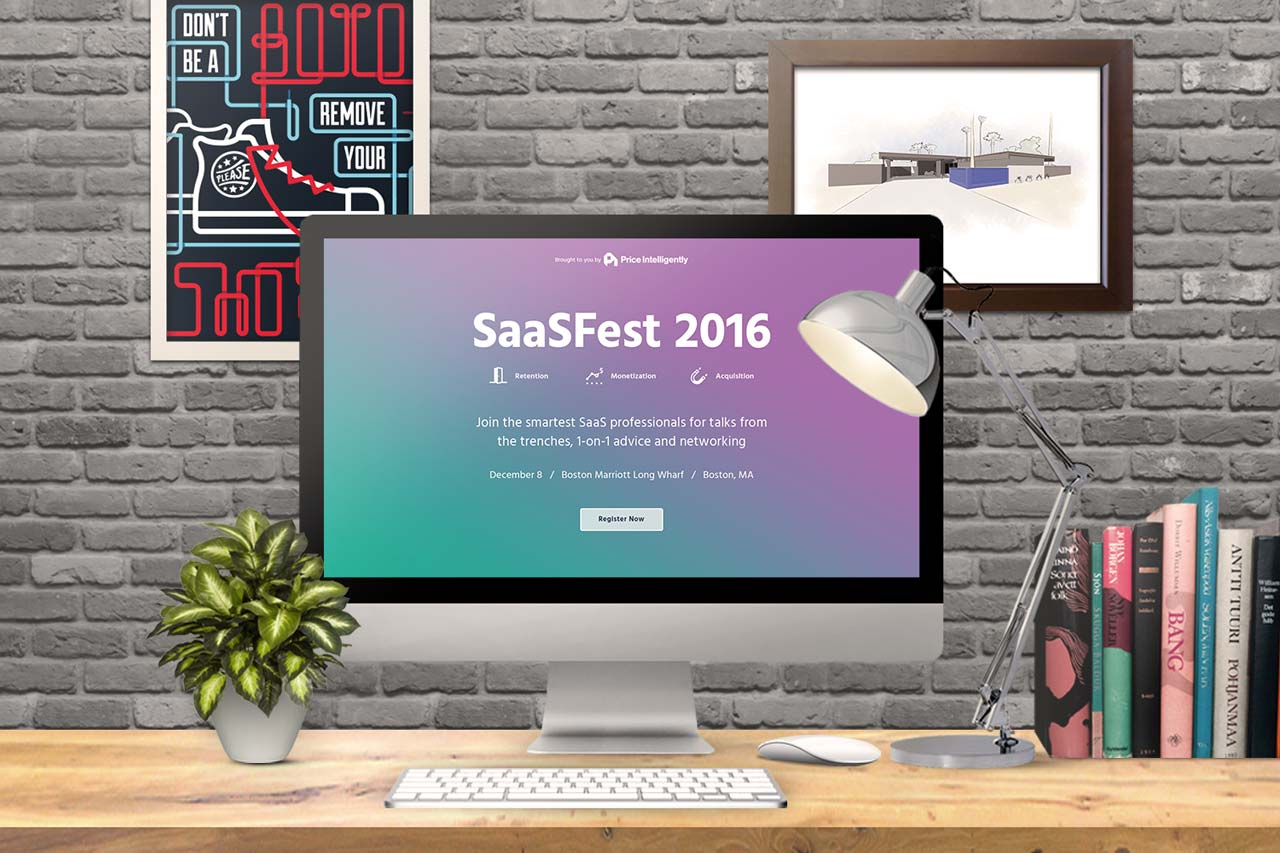Dot Pixel - SaaSFest 2016 Event Signup Page Design