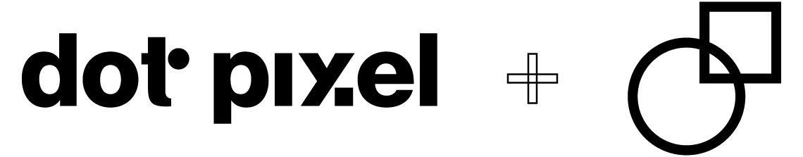 Dot Pixel Design Logo and Logomark